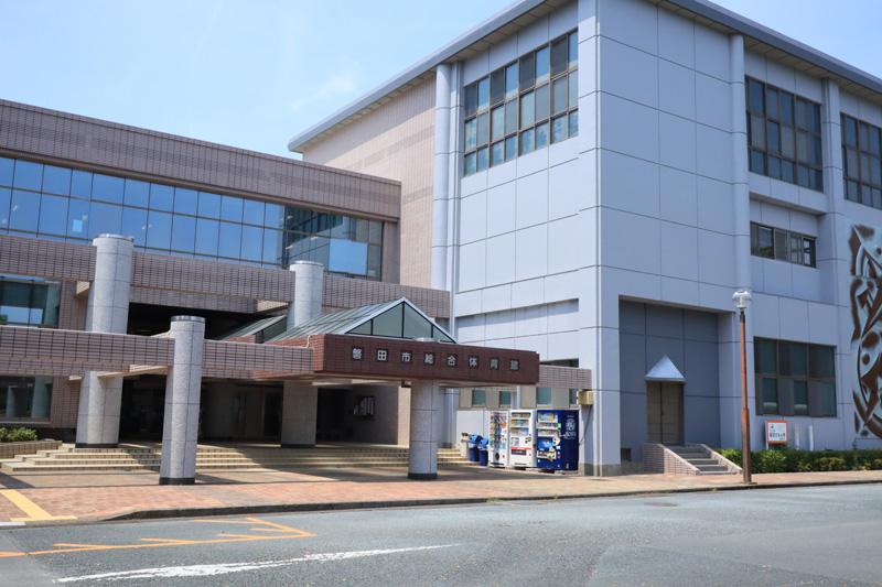 磐田市総合体育館写真