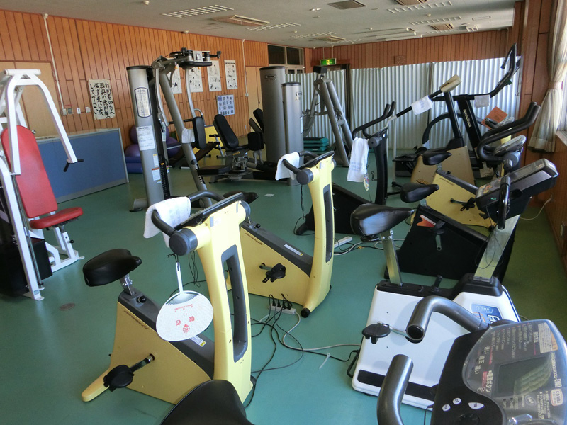 磐田市豊岡体育館トレーニング室写真